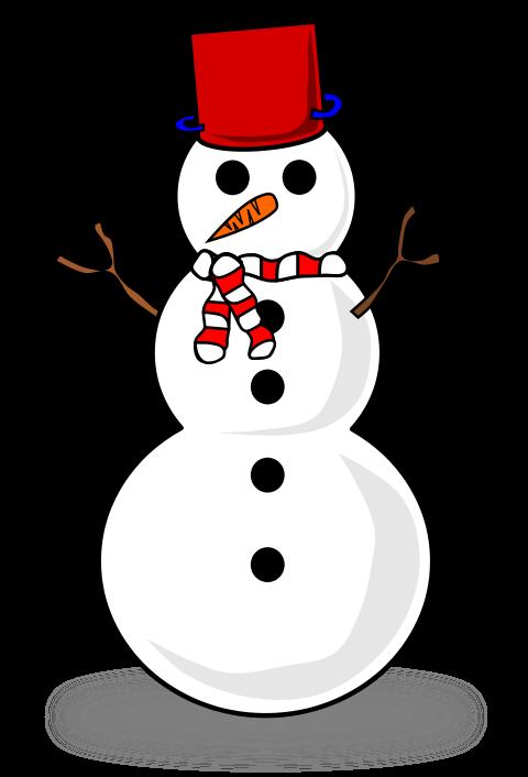 Snow Person Clip Art